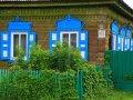 sibirisches Holzhaus