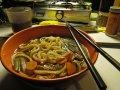 Japanische Udon Nudelsuppe