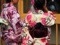japanische Touristen in Nara