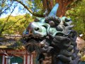 Kirin im Tenman-gu Temple bei Dazaifu (Japan)