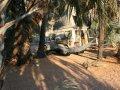 Camping an den Ruacana Wasserfällen am Kunene