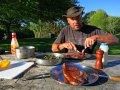 Steak mit grünen Bohnen (Neuseeland)