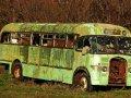 Bus bei Paparangi (Neuseeland)