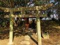 Torii im Korakuen Garten in Okayama (Japan)