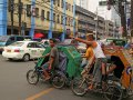 Fahrradtaxi in Manila