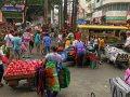 Strassenszene in Manila