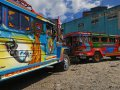 Jeepneys in Baguio