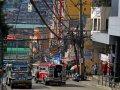 Strassenszene in Baguio