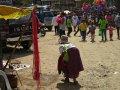 Strassenszene in Sagada