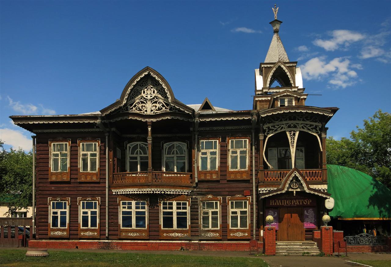 Faszinierend Russisches Holzhaus Das Beste Von Altes