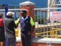 Polizei in Kapstadt