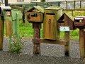 Briefkästen bei Invercargill