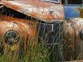 alte Autos in Kaitangata (Neuseeland)