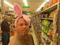 Osterbunny im Supermarkt (Neuseeland)