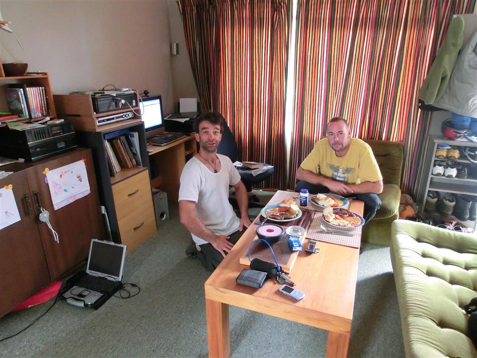 Bei Frank zuhause (Neuseeland)