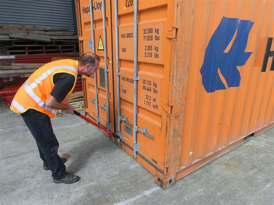 Der richtige Container? (Neuseeland)