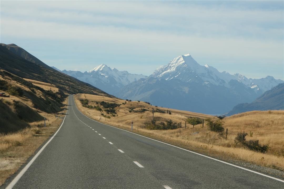Mt. Cook (Aoraki) View (Neuseeland)