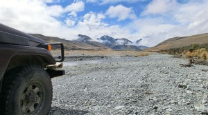 Offroad im Macaulay Valley (Neuseeland)