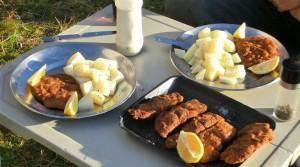 Schnitzel Wiener Art (Neuseeland)