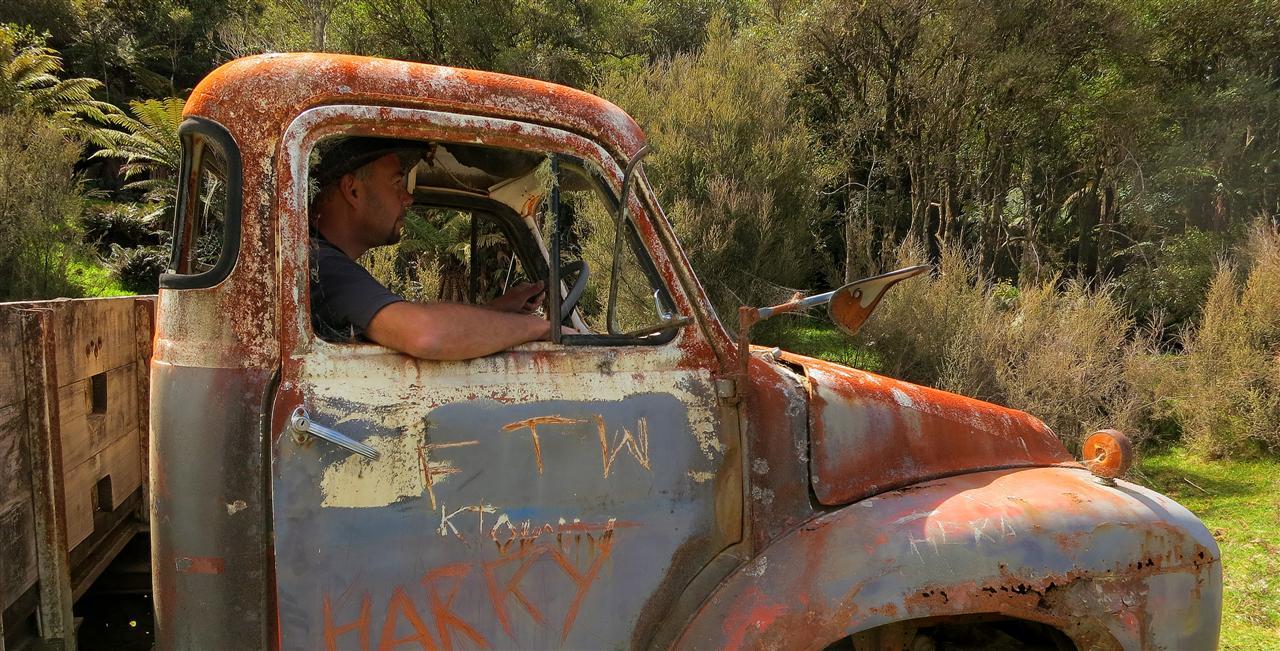 alter Bedford Truck (Neuseeland)
