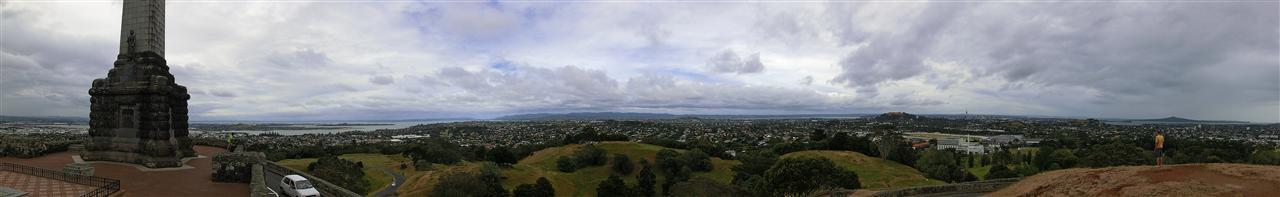 """Blick auf Auckland vom """"One Tree Hill"""" (Neuseeland)"""