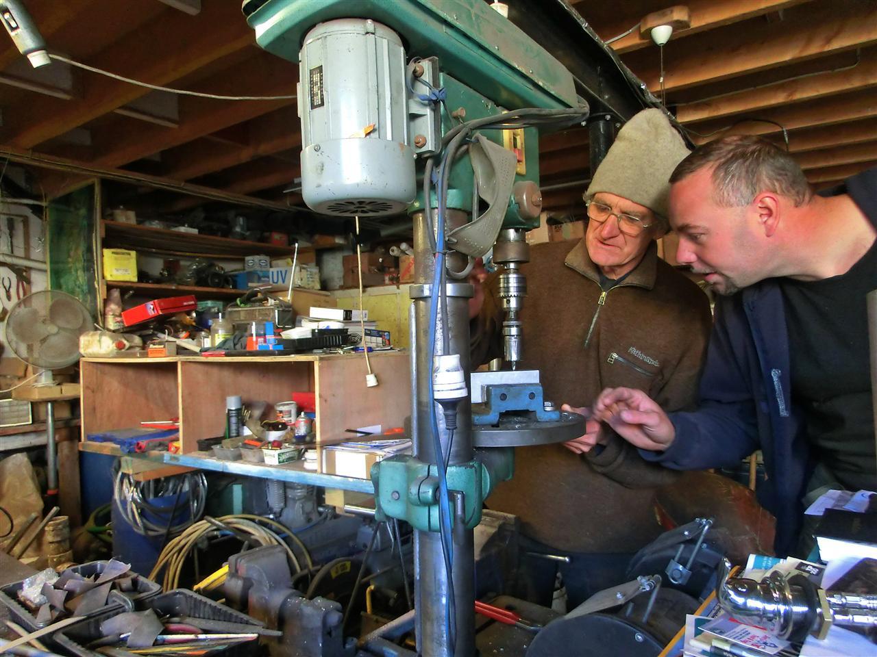 In Larry's Werkstatt (Neuseeland)