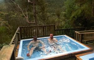 Outdoor Badewanne (Neuseeland)