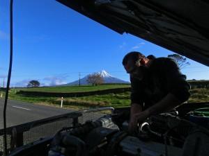 Panorama Reparatur (Neuseeland)
