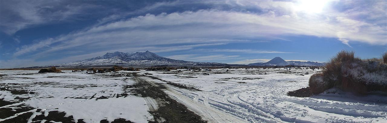 Ruapehu Panorama (Neuseeland)