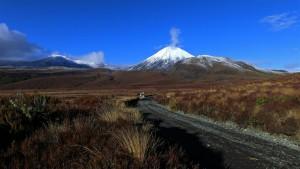 Vulkan Ngauruhoe (Neuseeland)