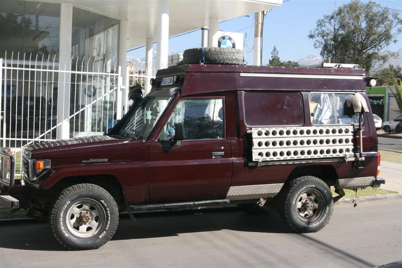 Toyota Landcruiser HZJ75