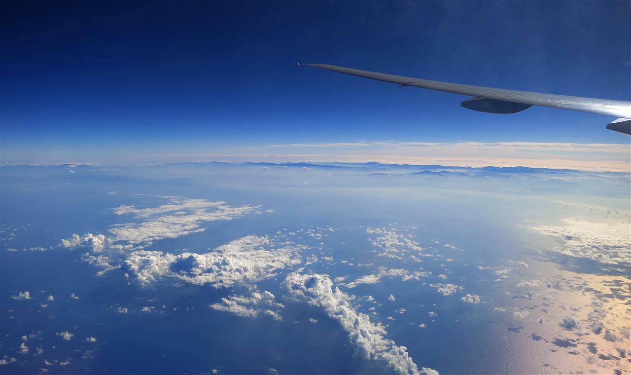 Anflug auf Manila (Philippinen)