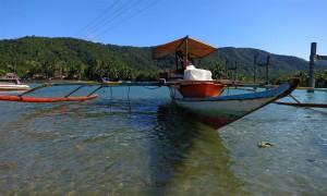 Bangka Boot auf den Philippinen