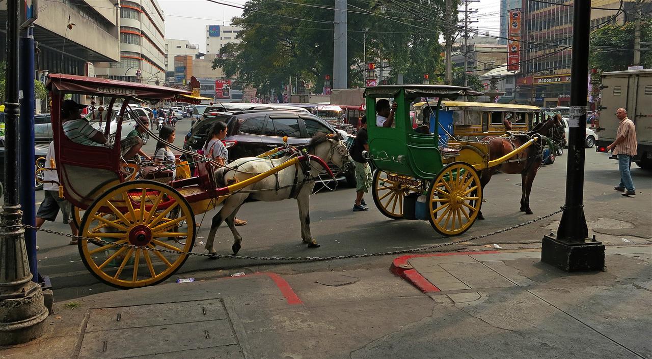 Kalesa Pferdekutsche (Philippinen)