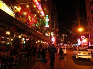 P. Burgos Street in Manila (Philippinen)
