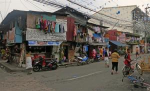 Strassenszene in Manila (Philippinen)