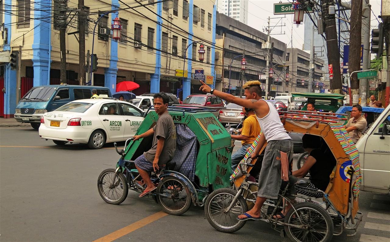 Tricycle in Manila (Philippinen)