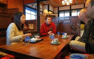 Megumi und Gordon