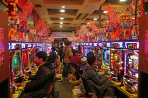 Pachinko Spielhalle (Japan)