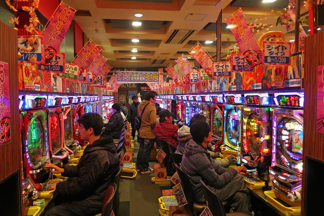 Pachinko Spielhalle (Japan)