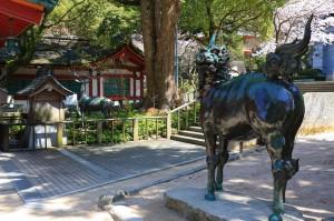 """japanisches Glücksdrachenpferd """"Kirin"""""""