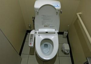 japanische Toilette (WC in Japan)