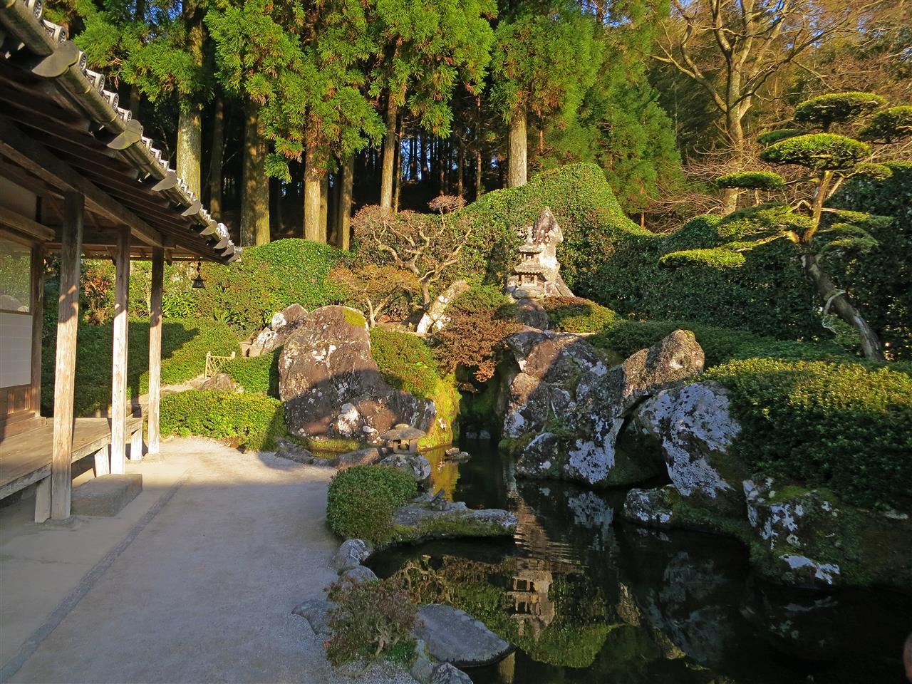 japanischer Garten in Chiran (Japan)