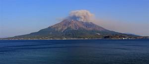 Vulkan Sakurajima (Japan)