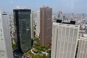 Blick auf Tokyo (Japan)