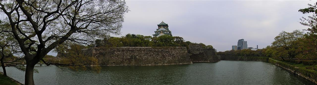Burg von Osaka (Japan)