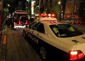 Die Cops in Tokio (Japan)