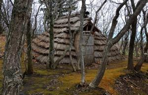 Hütte aus der Jomon Zeit (Japan)
