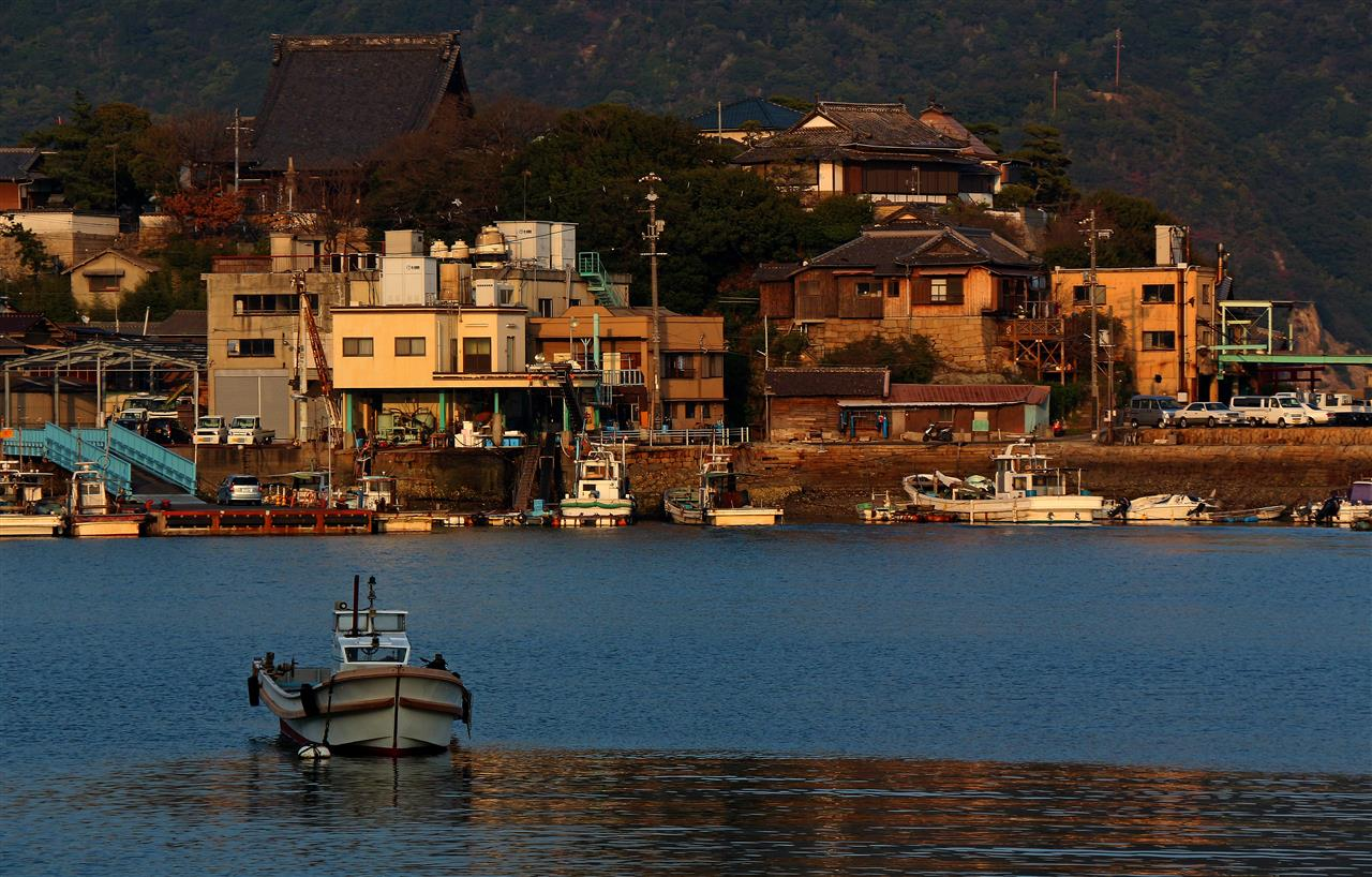 Im Hafen von Tomonoura (Japan)