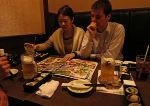 Im japanischen Restaurant (Japan)